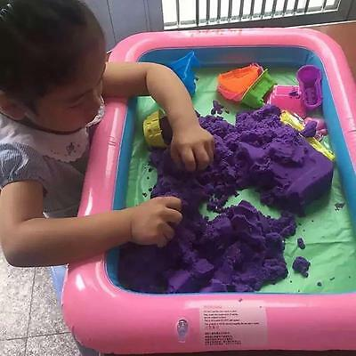 Inflatable Sand Tray PVC Mobile Table Children Kids Indoor Playing Sand Clay Toy