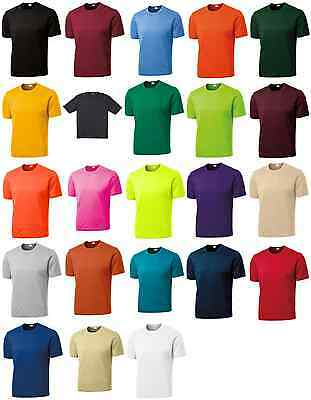 Sport-Tek Men's Dri-Fit Workout Running T Short Sleeve T-Shirt XS-4XL. ST350