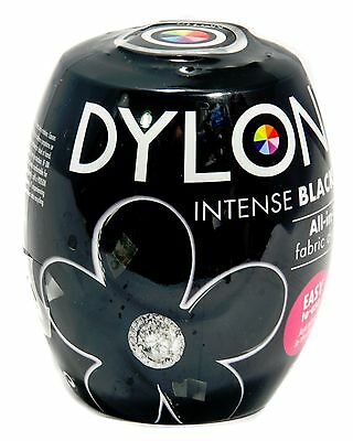 Velvet  Intense Black Fabric Dye by Dylon