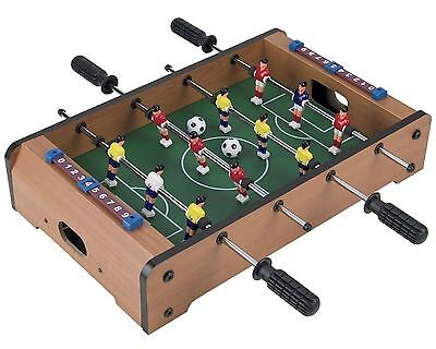 Deluxe Table Top Mini Football Table Soccer 12 Players Family Game Kids Toy Gift