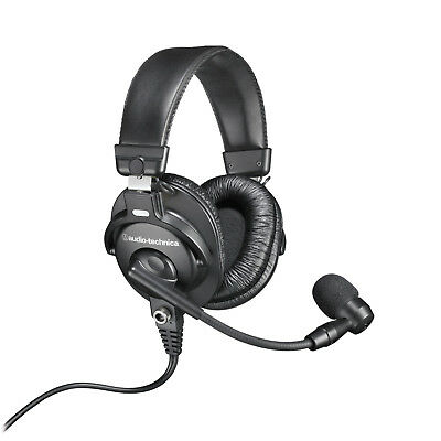 Audio-Technica BPHS1-XF4 Communications Headset NEW! Free 2-Day Delivery!