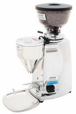 Mazzer Mini Electronic Type A Espresso Grinder Polished NEW Authorized Seller