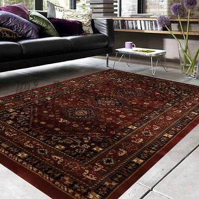 IST j Red SEVEN SIZES Persian Traditional Designer Floor Rug Carpet Runner