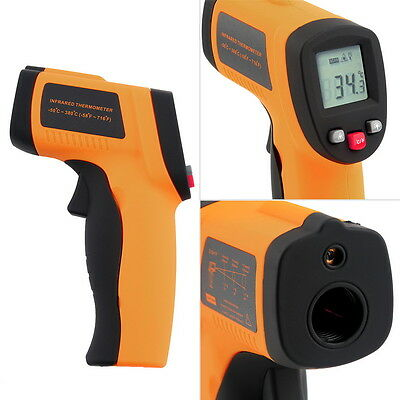 Non-Contact LCD IR Laser Infrared Digital Temperature Thermometer Gun LOT F7