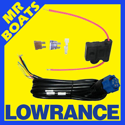 LOWRANCE - Power Cable for HDS Models - Elite Hook 127-49 PC-30-RS422 FREE POST