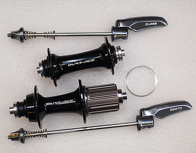 Shimano Dura Ace Hubset HB-9000 + FH-9000 28H 10/11 Speed w/ Quick-Release, NIB