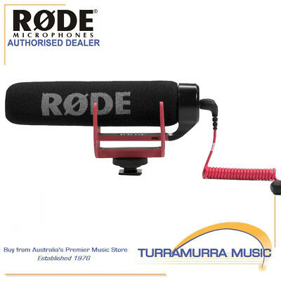 Rode VideoMic Go lightweight on-camera shotgun microphone video mic