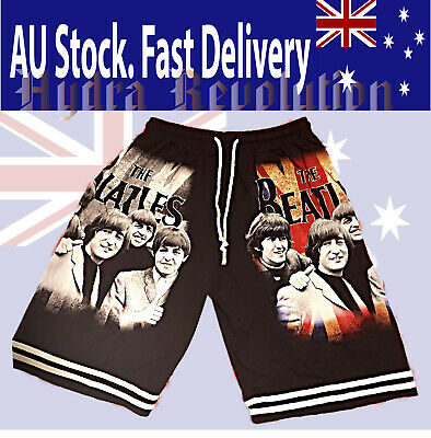 The Beatles, Rock, Comfy Shorts, Casual Wear AU Stock