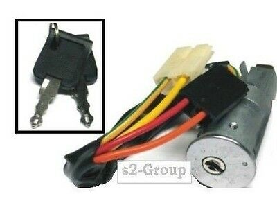 Renault Trafic 86-94 Ignition Switch Steering Barrel Lock With Keys 7700772942
