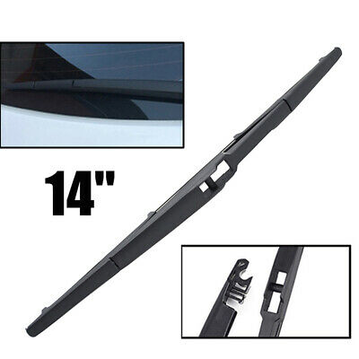 "14"" Rear Window Windshield Wiper Blade Fit For Mazda Hyundai Kia Lexus Suzuki"