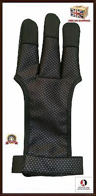 Shooting Wind stopper Gloves Archery/ RIGHT / LEFT HAND/ ( Leather Free Gloves )