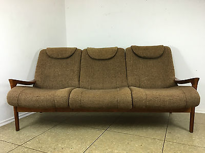 3 x easy chair sessel 60er jahre mid century danish design for 70 er jahre couch