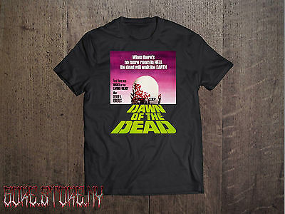 "Dawn of the Dead ""When there is no more room in Hell""  Horror Movie Shirt"