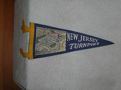 Felt Pennett Collectibles New Jersey Turnpike