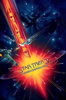 1991's STAR TREK VI: THE UNDISCOVERED COUNTRY original O/S 2-poster set