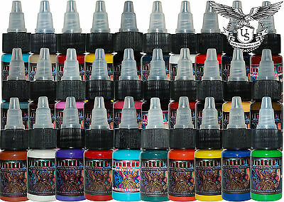 Infinitii Tattoo Ink 1/2oz 30 Color Set #2 + Free Gift!