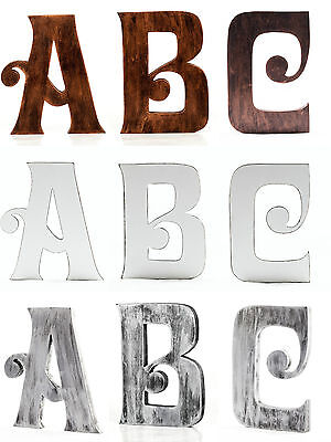 EXTRA Large 8 inch 20 cm Vintage Wooden Letters Free-standing A to Z & Alphabets