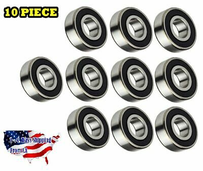 6203-2RS Ball Bearing Dual Sided Rubber Sealed Deep Groove (10PCS)