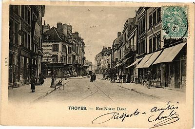 CPA TROYES - Rue Notre-Dame (72033)