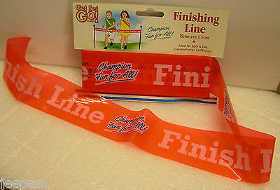Finishing Line Tape Sports Day Running Race Cross the finish line tape 1, 2 or 4
