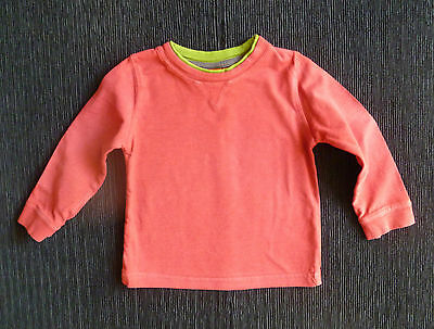 Baby clothes BOY 12-18m Minimode rust-red/green long sleeve t-shirt/top SEE SHOP