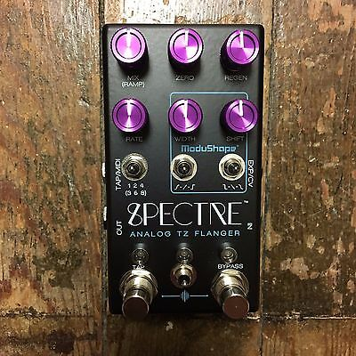 Chase Bliss Audio Spectre Analog Flanger Guitar Effect Pedal