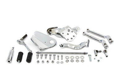 Shifter Control Kit Complete, Chrome