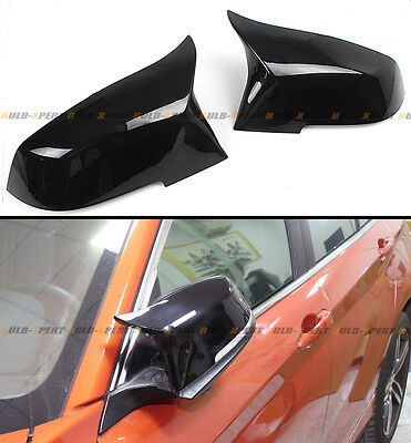 2013-2017 BMW F30 Sedan Painted Blk Direct Replacement M3 Style Mirror Covers