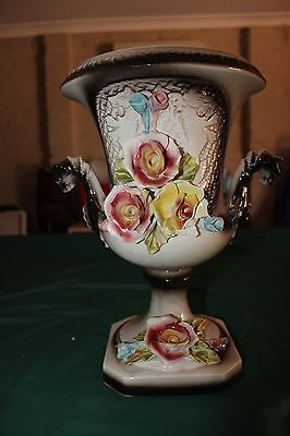Antique Decorative Large Procelain Urn