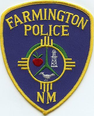 Farmington New Mexico Nm Police Patch