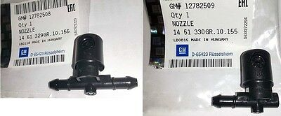 Opel Vauxhall Insignia Set 2X Front Windscreen Washer Nozzle Sprayer Jet Genuine
