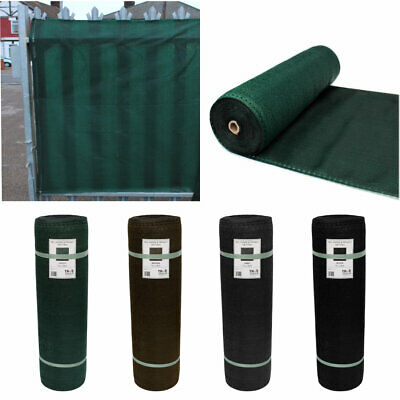 98% Shade Netting & for Privacy Screening Windbreak Garden Fence Net - 3 Colours