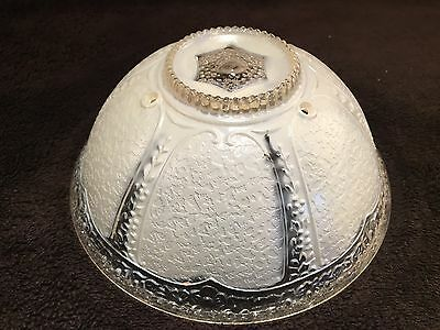 Vintage Frosted Glass Light Shade Globe Ceiling Lamp Light Cover Round Fixture