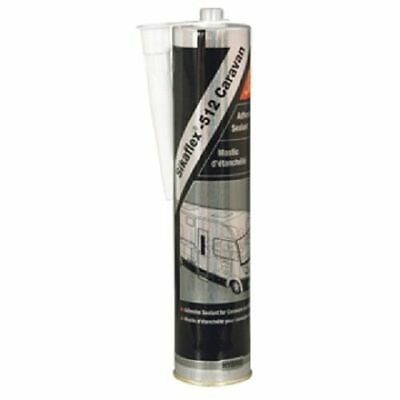 2 x Sika Sikaflex 512 White Caravan & Motor Home Sealant 300ml