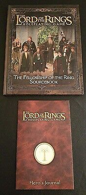 THE FELLOWSHIP OF THE RING SOURCEBOOK Lord of the Rings Roleplaying Game Lot NEW