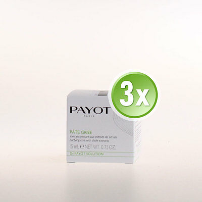 Payot Dr. Payot Solution Pâte Grise 15ml NEU&OVP - 3x