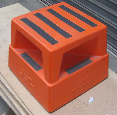 Used- Team Systems Step-Up® Portable Access Step Plastic step stool platform