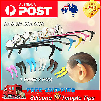 Silicone Glasses Temple Hook Tip Eyeglasses Ear Grip Anti Slip Holder Spectacle