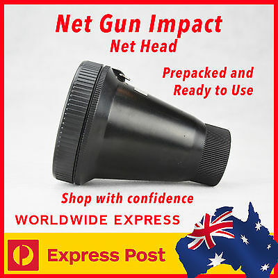 New!! Net Gun Impact - Net Head - Net Prepacked & Ready To Use