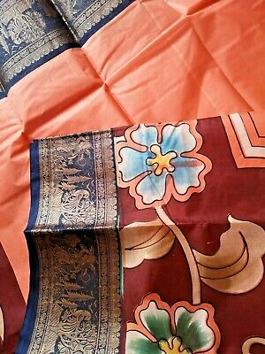 Indian PURE SILK Sari / Kanchipuram /  Fancy / Katan / Banarasi Saree 61879