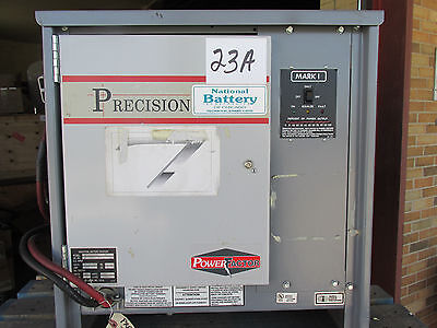 Precision Forklift Lift Truck Battery Charger 24V 600 AH 240/480-3 GC! Free Ship