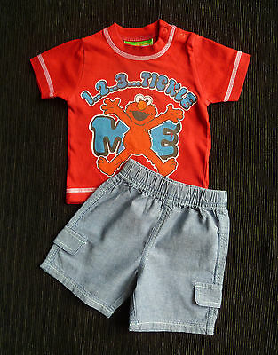 Baby clothes BOY 0-3m NEW!outfit Mr Tickle NEXT top/shorts 2nd item post-free!
