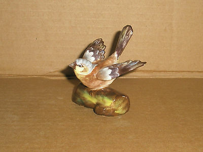 Crown Staffordshire Bird Figurine/ Finch