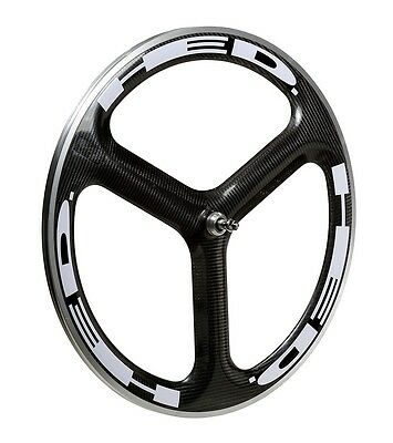 HED H3 Wheel Decal/Sticker Set of 12 White For 40mm+ rim Jet/HED 3 one piece