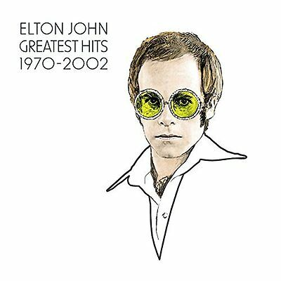 The Greatest Hits 1970-2002 by Elton John New Music CD