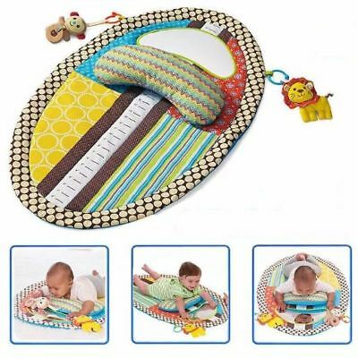 Baby Infants Gym Tummy Time Play Mat Waterproof Change Mat Cushion & Musical Toy
