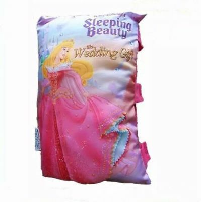 New Disney Sleeping Beauty Pillow Story Book Kids Girl Plush Bedtime Story GIFT