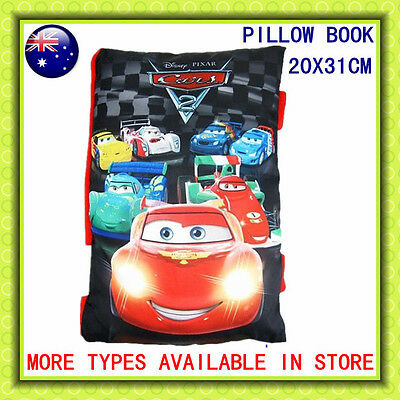 Disney Cars Soft Story Pillow Book Kids Boys Plush Bedtime Story 20X31 XMAS GIFT