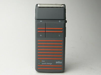 Vintage BRAUN Linear 275 Electric Shaver ULLMANN Dieter RAMS DESIGN ICON MoMa