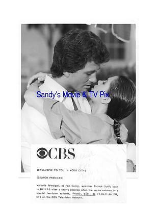 VICTORIA PRINCIPAL, PATRICK DUFFY Terrific ORIGINAL TV Photo DALLAS